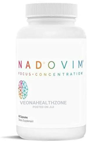 Nadovim NAD+ Increase Focus and Concentration Brain Power | Vitamins & Supplements for sale in Lagos State, Magodo