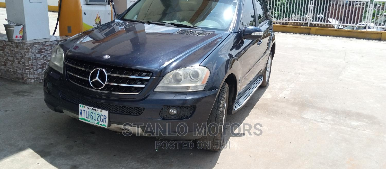 Archive: Mercedes-Benz M Class 2008 ML 350 4Matic Blue