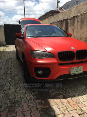 BMW X6 2009 xDrive 50i Red | Cars for sale in Lagos State, Ajah