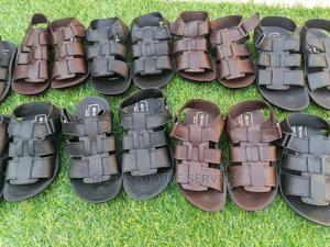 Kiddies Quality Leather Sandals | Children's Shoes for sale in Lagos State, Alimosho
