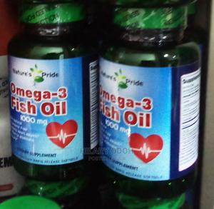 Natures Pride Omega 3 Fish Oil | Vitamins & Supplements for sale in Lagos State, Ojo