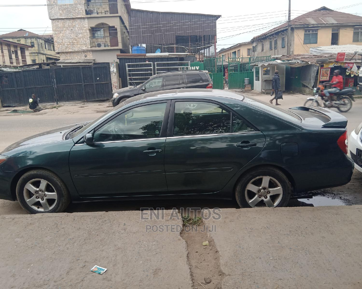 Toyota Camry 2004 Green   Cars for sale in Mushin, Lagos State, Nigeria