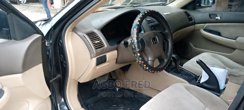 Honda Accord 2005 2.4 Type S Automatic Black | Cars for sale in Victoria Island, Lagos State, Nigeria