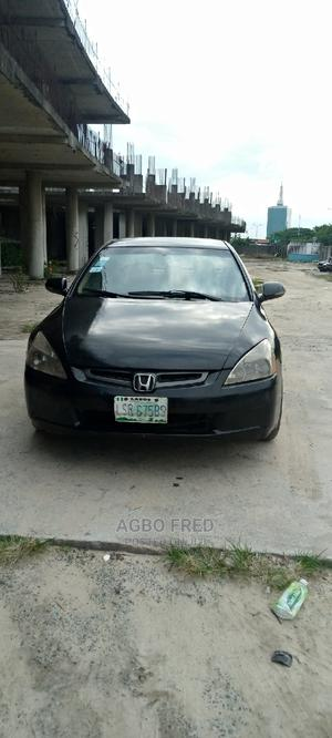 Honda Accord 2005 2.4 Type S Automatic Black | Cars for sale in Lagos State, Victoria Island
