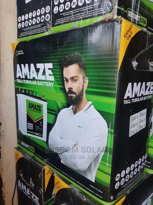 12V 220ah Amaze Tubular Batteries | Solar Energy for sale in Lagos State, Ikeja