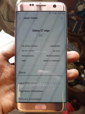 Samsung Galaxy S7 edge 32 GB Silver | Mobile Phones for sale in Kwara State, Ilorin West