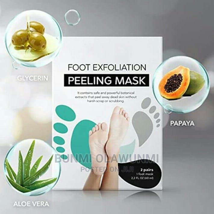 Foot Exfoliating Mask   Skin Care for sale in Ikorodu, Lagos State, Nigeria