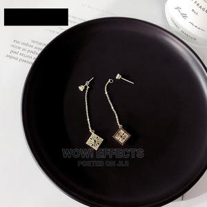 Emerald 18k Gold-Filled Earrings   Jewelry for sale in Lagos State, Ikeja