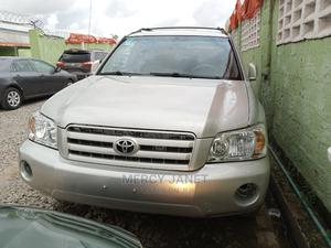 Toyota Highlander 2004 V6 AWD Silver | Cars for sale in Lagos State, Agege