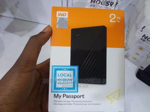 WD My Passport 2tb External Hard Drive   Computer Hardware for sale in Lagos State, Ikeja