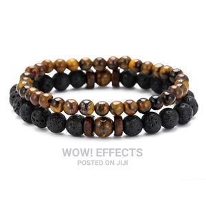 Lava Rock Beaded Bracelets   Jewelry for sale in Lagos State, Ikeja