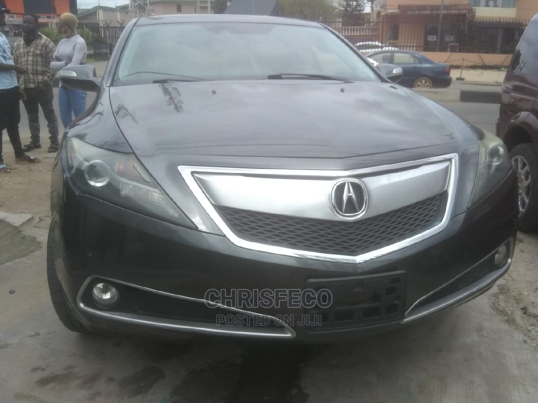 Acura ZDX 2013 Base AWD Gray