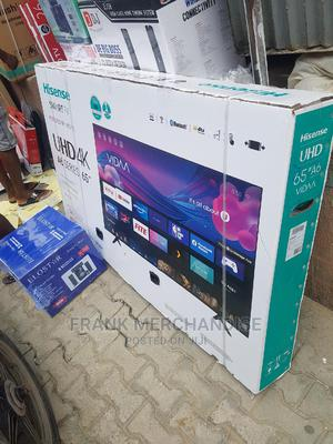 Hisense TV 65inches Powered BY VIDAA Smart Tv   TV & DVD Equipment for sale in Lagos State, Victoria Island