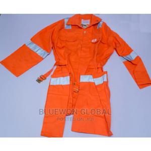 Safety Reflective Coverall - Orange | Safetywear & Equipment for sale in Lagos State, Ikeja