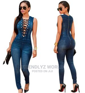 Lasies Jean Jumpsuit | Clothing for sale in Delta State, Warri