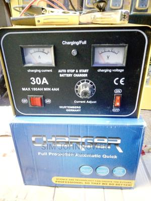 Full Automatic Battery Charger 30amps 12-24v | Measuring & Layout Tools for sale in Lagos State, Ojo