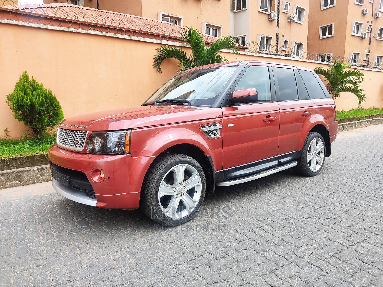 Archive: Land Rover Range Rover Sport 2008 4.2 V8 SC Orange