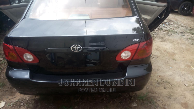 Archive: Toyota Corolla 2004 1.4 D Automatic Black