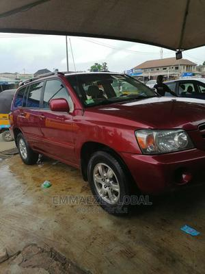 Toyota Highlander 2006 Red   Cars for sale in Lagos State, Isolo