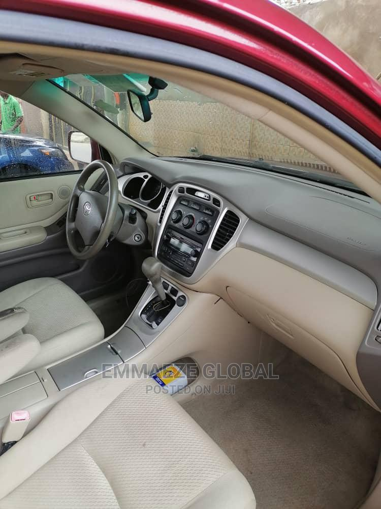 Toyota Highlander 2006 Red   Cars for sale in Isolo, Lagos State, Nigeria