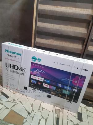 New Hisense TV 65inches SMART TV Powered BY VIDAA Bluetooth   TV & DVD Equipment for sale in Lagos State, Ikeja