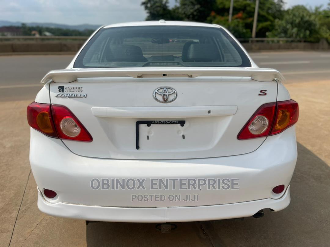 Toyota Corolla 2010 White   Cars for sale in Kubwa, Abuja (FCT) State, Nigeria