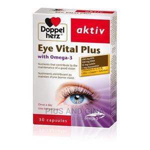 Doppelherz Aktiv Doppelherz Aktiv Eye Vital Plus With Omega | Vitamins & Supplements for sale in Lagos State, Alimosho