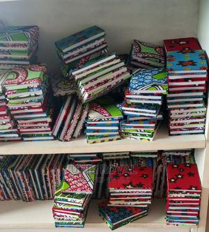 Ankara Notebooks at #1200 Each.   Arts & Crafts for sale in Lagos State, Ajah