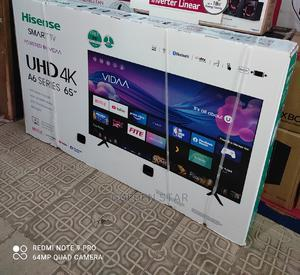 New Hisense 65''inch 4K UHD TV A6 Series Youtube Netflix | TV & DVD Equipment for sale in Lagos State, Abule Egba