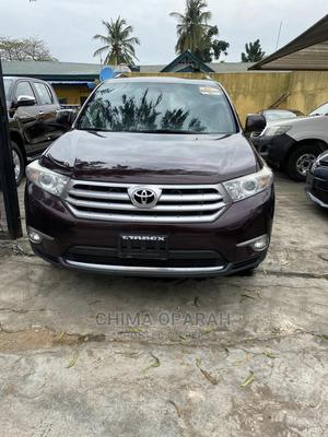 Toyota Highlander 2013 3.5L 4WD Brown   Cars for sale in Lagos State, Kosofe