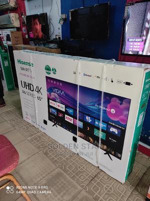 2021 Hisense 65''inch 4K UHD TV A6 Series Youtube Netflix | TV & DVD Equipment for sale in Lagos State, Lekki