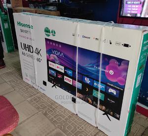 New 2021 Hisense 65''inch Smart UHD 4K A6 Series Wifi Mount   TV & DVD Equipment for sale in Lagos State, Lekki