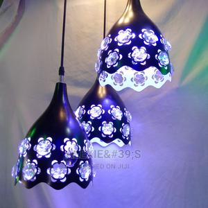 3 Pieces Black Chandelier With Ceiling Plate LED Light | Home Accessories for sale in Abuja (FCT) State, Kubwa