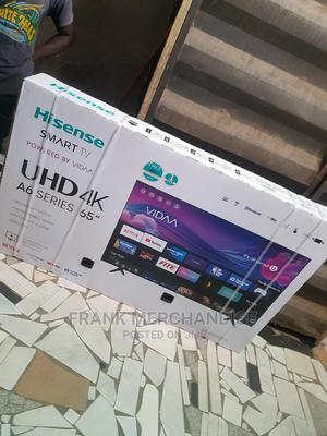 Hisense TV 65inches Smart TV Powered BY VIDAA 4KUHD Bluetoo   TV & DVD Equipment for sale in Lagos State, Maryland