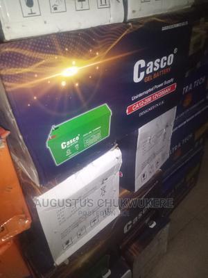 200ah 12V Casco UK Battery   Solar Energy for sale in Lagos State, Ojo
