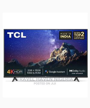 TCL 50-Inch 4k UHD Android Smart TV | TV & DVD Equipment for sale in Abuja (FCT) State, Wuse