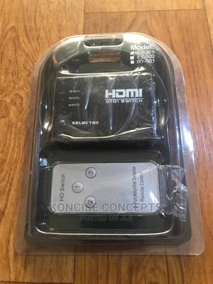 HDMI Switch With Remote 3 Way   Accessories & Supplies for Electronics for sale in Lagos State, Lekki