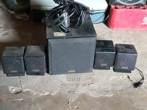 Cambridge Soundworks With 4 Mini Speakers and Adapter   Audio & Music Equipment for sale in Abia State, Umuahia