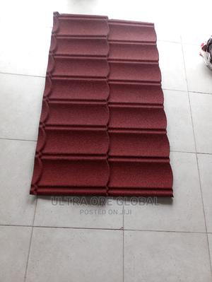 Wine Red Original Stone Coated Roofing Sheet   Building Materials for sale in Lagos State, Lekki