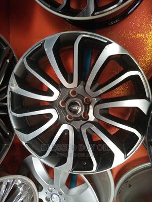 22 Rim for Range Rover Smart Black Available ETC   Vehicle Parts & Accessories for sale in Lagos State, Mushin