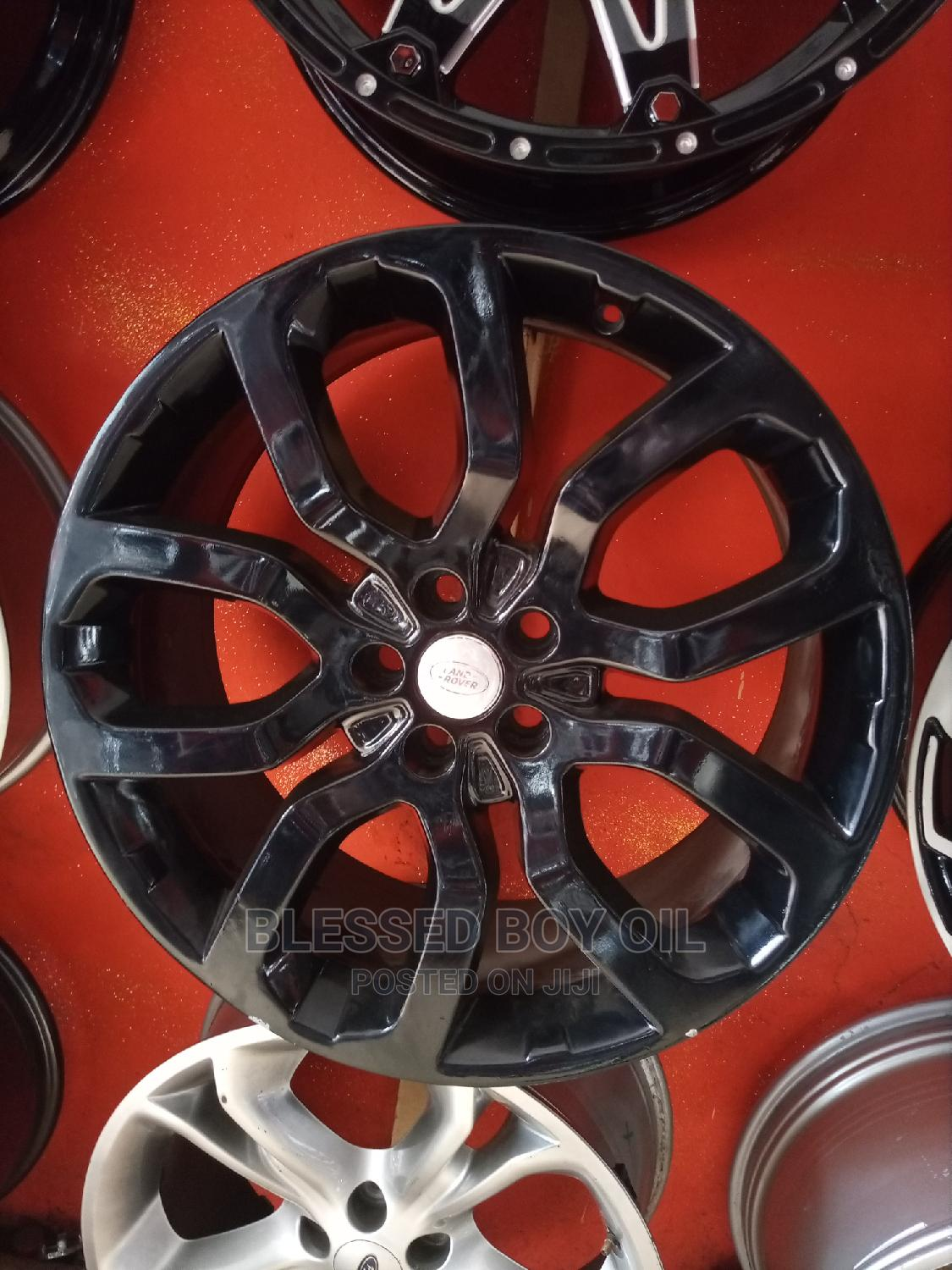 22 Rim for Range Rover Smart Black Available ETC   Vehicle Parts & Accessories for sale in Mushin, Lagos State, Nigeria