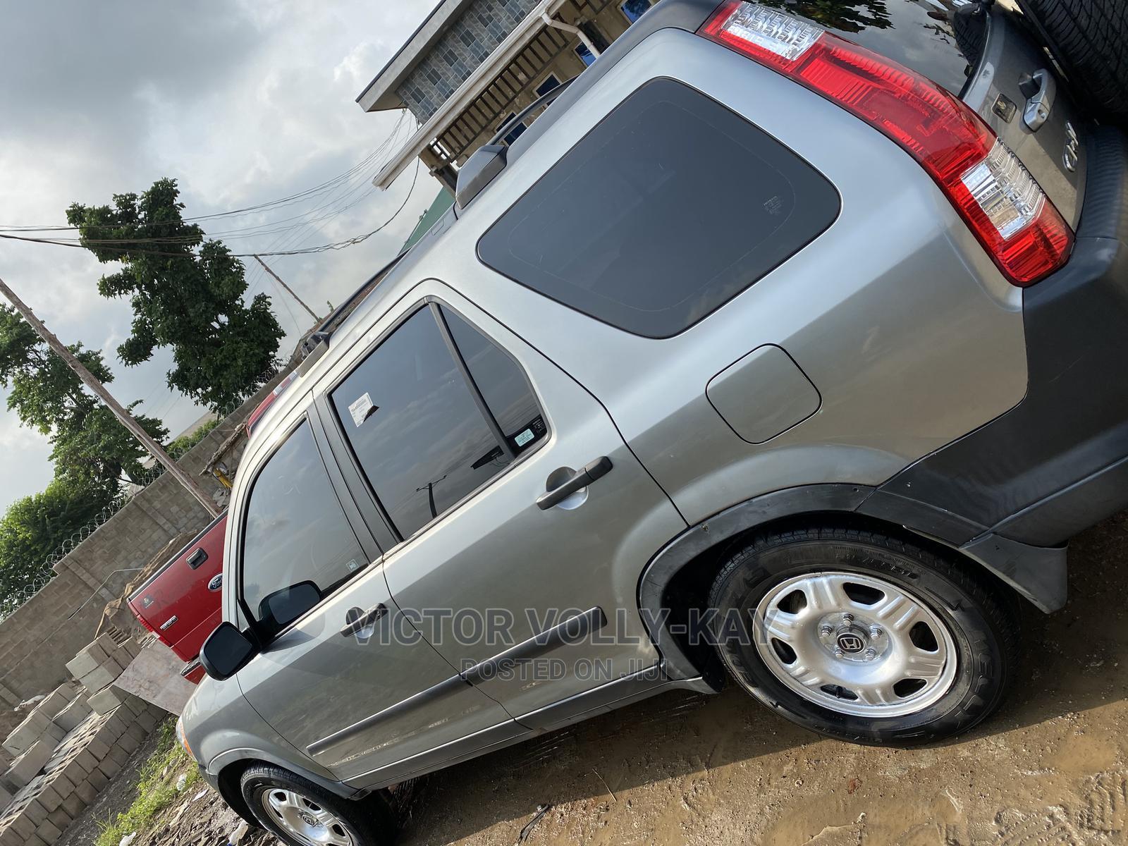 Honda CR-V 2006 SE 4WD Automatic Gray | Cars for sale in Ibadan, Oyo State, Nigeria