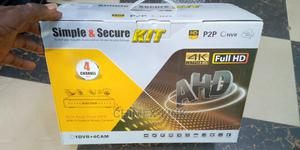 Real-Time CCTV DVR Kit IR Color Waterproof Camera   Security & Surveillance for sale in Lagos State, Ikeja