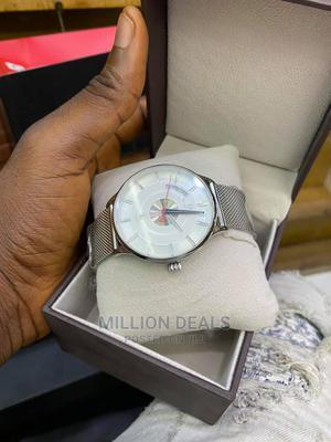 Men's Slim Stainless Steel Wrist Watch | Watches for sale in Lagos State, Ikorodu