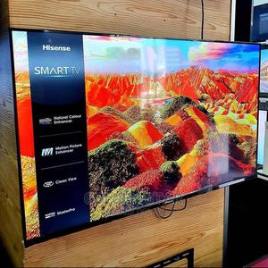 New Hisense SMART Android 65'inch 4K UHD TV Bluetooth WI-FI | TV & DVD Equipment for sale in Lagos State, Ikeja