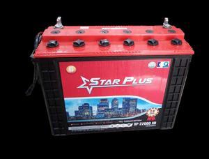 12V 220ah Star Plus Tubular Battery - 2 Years Warranty | Solar Energy for sale in Lagos State, Alimosho