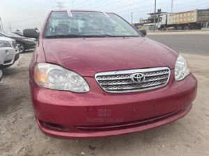 Toyota Corolla 2006 LE Red   Cars for sale in Lagos State, Lekki