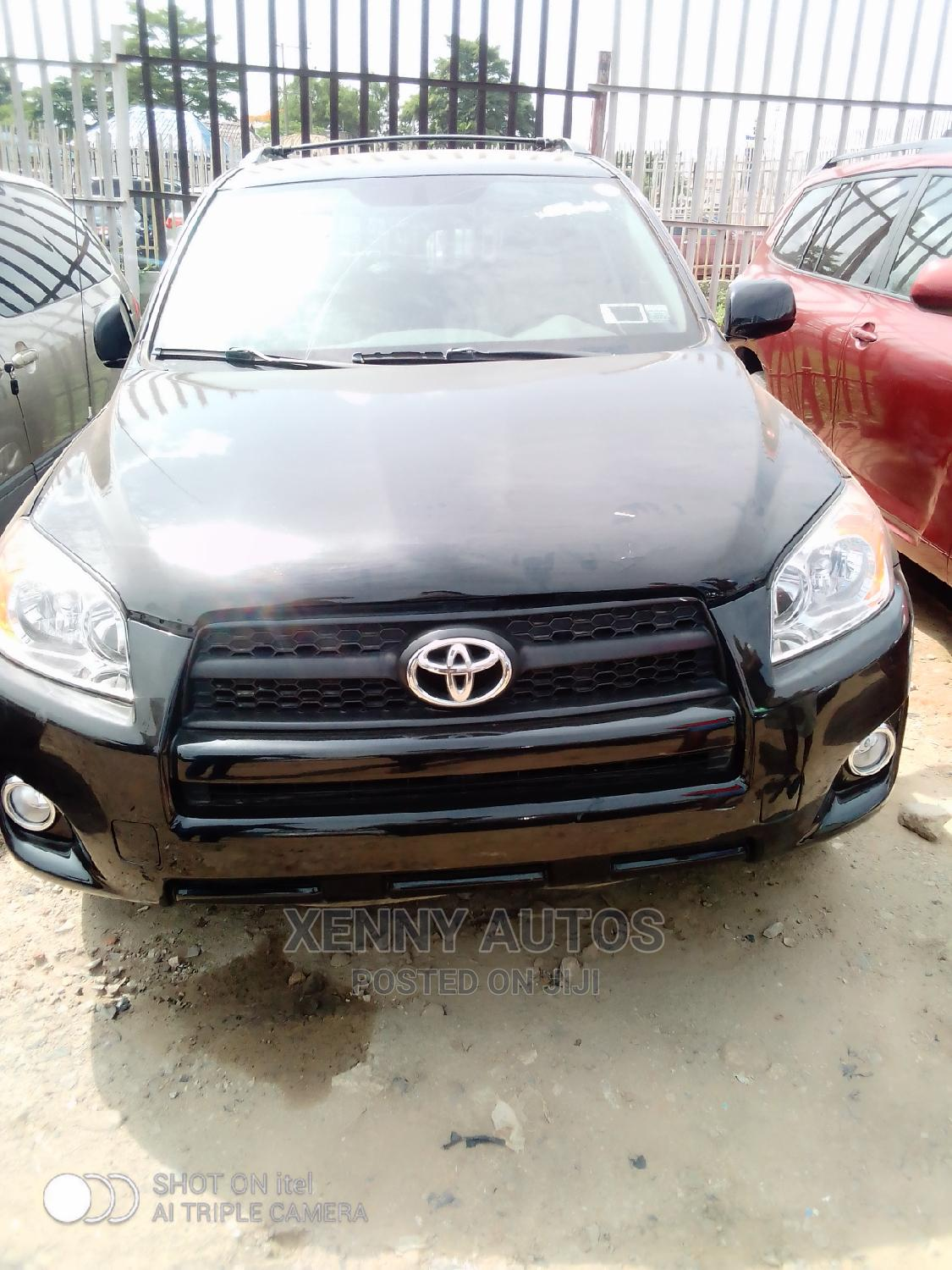 Toyota RAV4 2008 Limited V6 Black | Cars for sale in Isolo, Lagos State, Nigeria