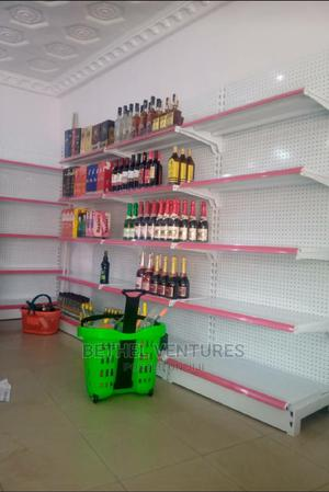 Single Supermarket Shelve and Basket | Store Equipment for sale in Lagos State, Ojo