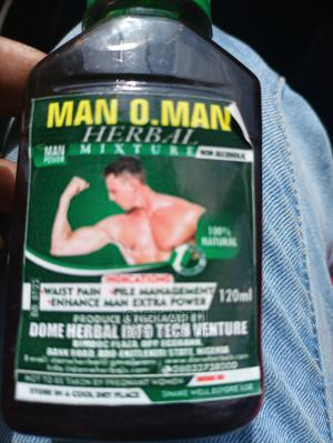 Man O.Man Herbal Mixture | Meals & Drinks for sale in Lagos State, Surulere